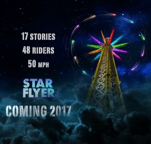 Elitch Gardens Announces Star Flyer for 2017