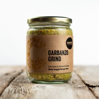 Jar of Garbanzo Grind Fresh Mix