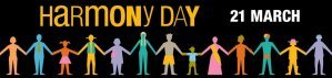 Harmony Day Image of different stick cultures holding hands