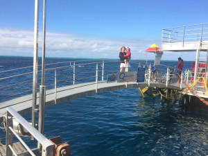 Quicksilver Pontoon on the Great Barrier Reef