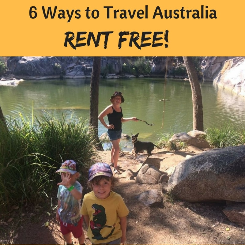 How to Stay Rent Free in Australia