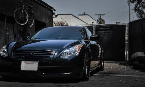 Infiniti G35 Lowered with Coil Overs