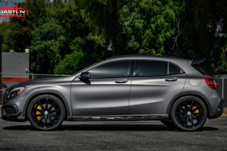 Mercedes Benz GLA45 AMG w/ Stage 3 Coastline Blackout