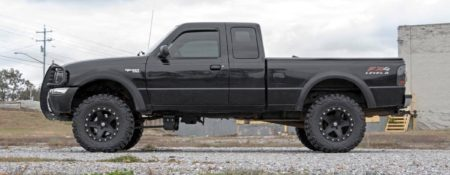 Rough Country 5 Inch Lift Ford Ranger Installed
