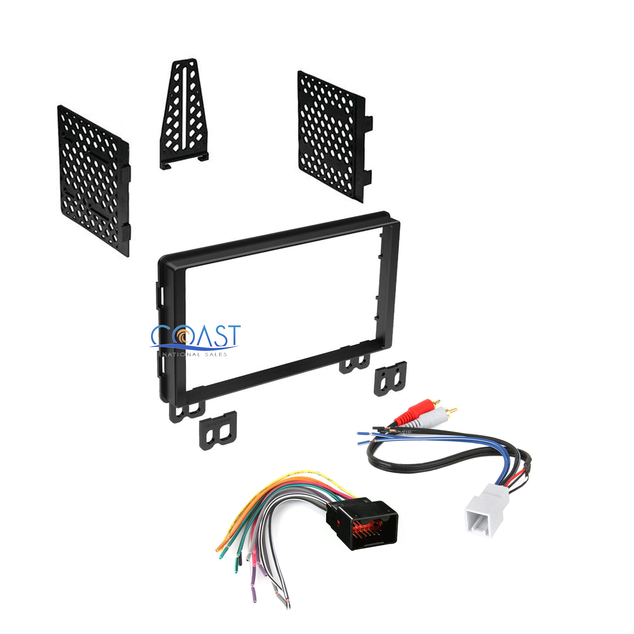 Double Din Car Radio Stereo Dash Kit Harness For 06