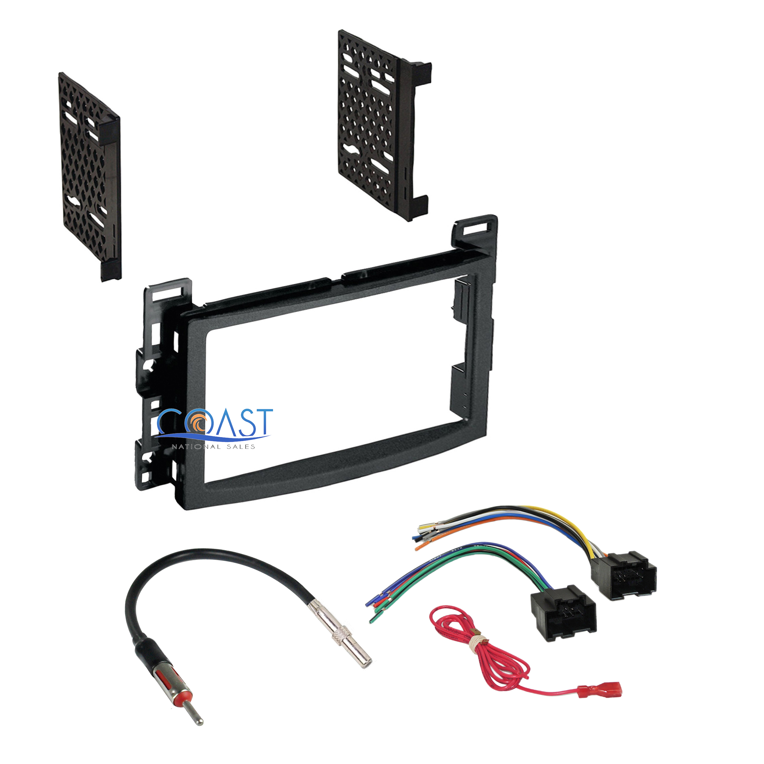 Car Radio Stereo Dash Kit Harness Antenna For