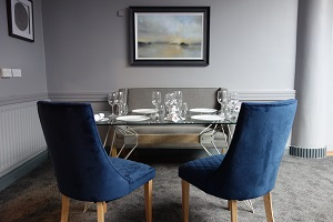 Blue Room Seating Area