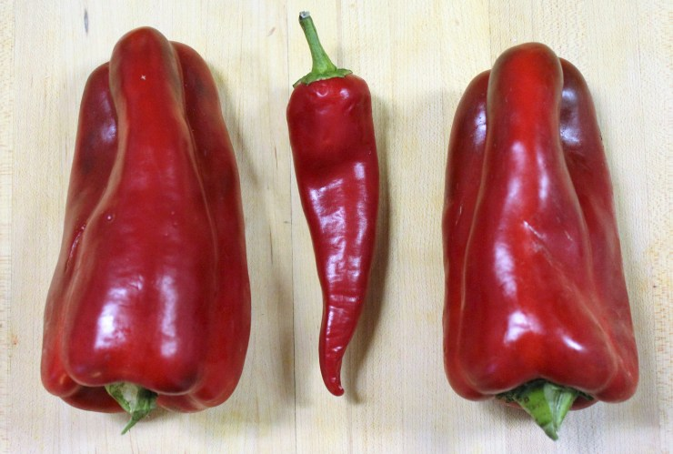 Fresno chili and Red Peppers