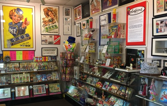 Burlingame Museum of PEZ Memorabilia. (Photo by MontaraManDan)