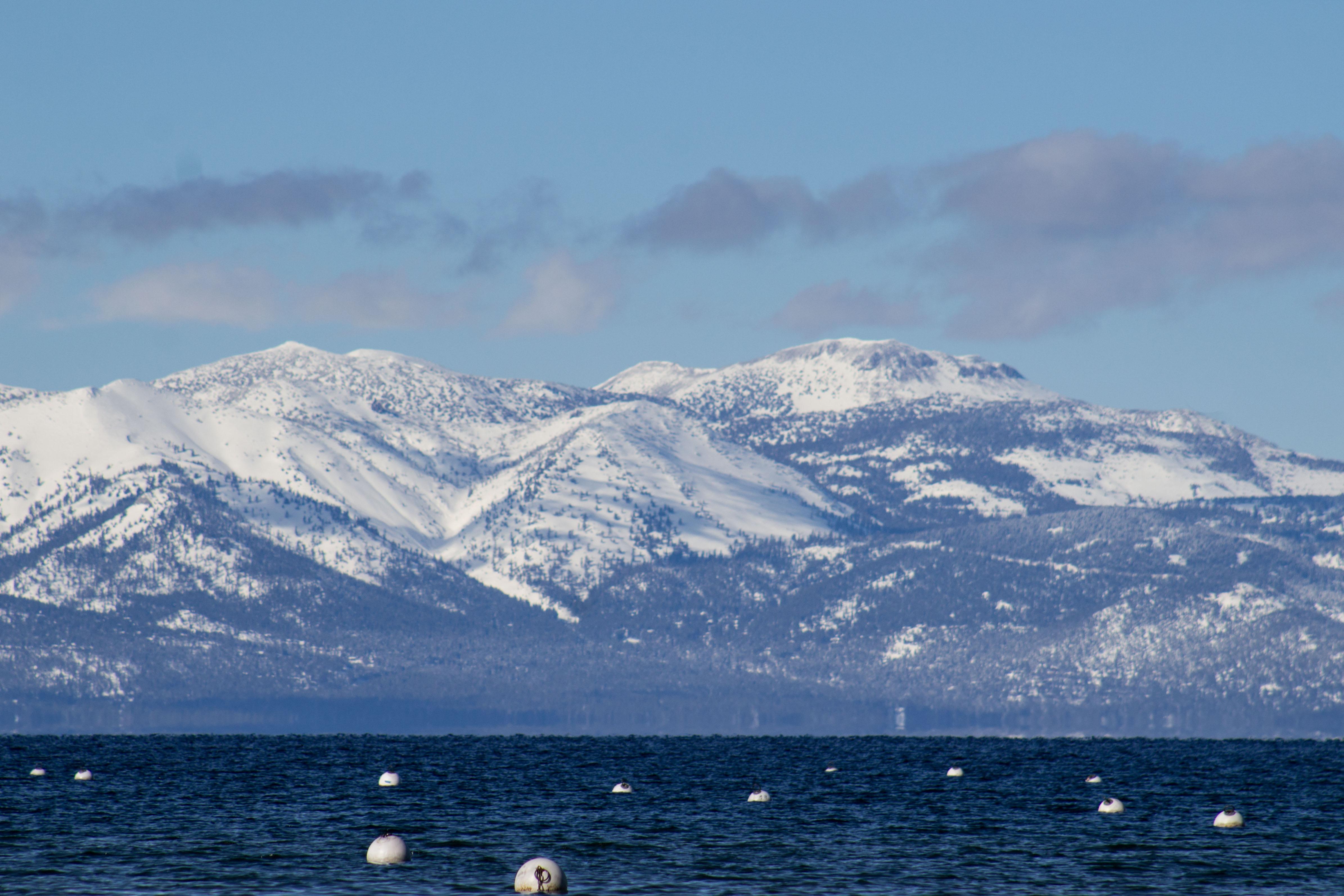 Lake Tahoe was deserted and wonderful. Dawn Page/CoastsideSlacking