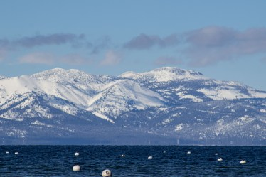 Lake Tahoe was deserted and wonderful. Dawn Page/CoastsideSlacking