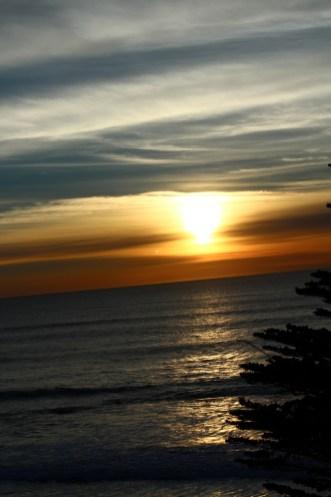 Sunset at Fitzgerald Marine reserve in Moss Beach. Dawn Page/CoastsideSlacking
