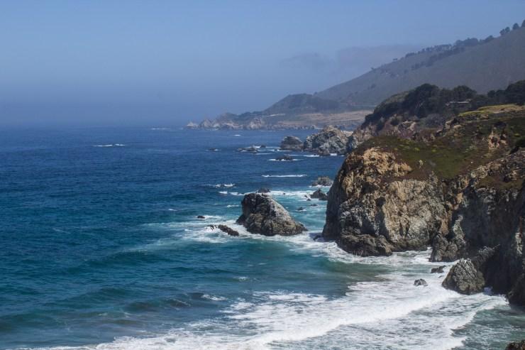 Spectacular views between Carmel and Big Sur. Dawn Page/CoastsideSlacking