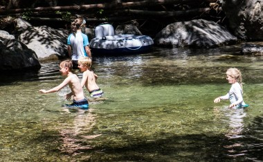 River fun at Pfeiffer Big Sur State Park. Dawn Page / CoastsideSlacking