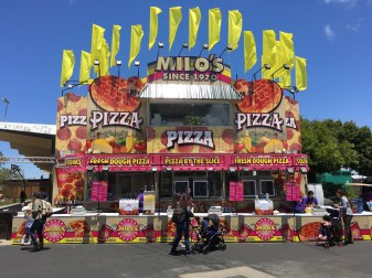Lots of food options at the San Mateo County Fair. Dan Page/CoastsideSlacking