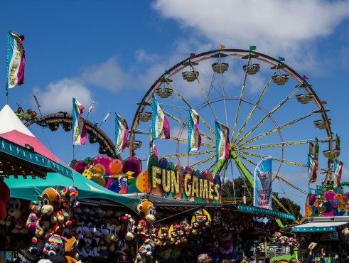 San Mateo County Fair. Dawn Page/CoastsideSlacking