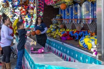 Games at the San Mateo County Fair. Dawn Page/CoastsideSlacking