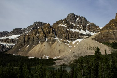 Stunning views of the Canadian Rockies along the Icefields Parkway. Dawn Page / CoastsideSlacking