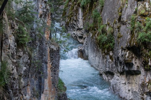 Johnston Canyon in Banff National Park, Alberta, Canada. Dawn Page / CoastsideSlacking