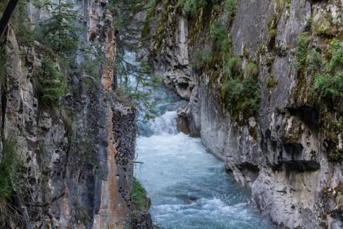 Johnston Canyon in Banff National Park, Alberta, Canada. Dawn Page / CoastsideSlacking