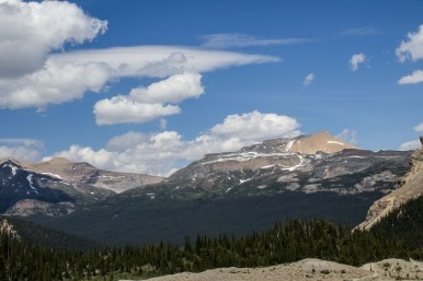Stunning views from the hike to Bow Glacier Falls Trail in Banff National Park. Dawn Page / CoastsideSlacking