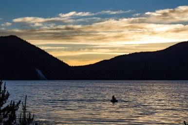 Lake Pauline at the Newberry National Volcanic Monument. Dawn Page / CoastsideSlacking