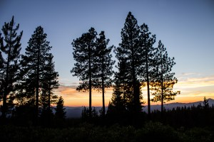 Sunset at the Newberry National Volcanic Monument. Dawn Page / CoastsideSlacking