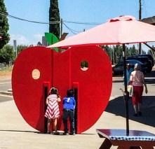 Fun with photos at Boa Vista Orchard. Dawn Page / CoastsideSlacking
