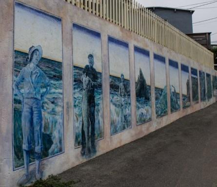 Murals at Martins Beach, near Half Moon Bay, California. Dawn Page / CoastsideSlacking