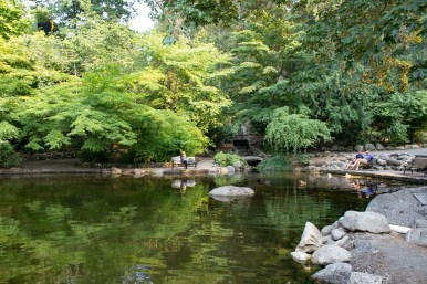Lithia park in Ashland, Oregon. Much, much more pleasant than the lithia water in the public square fountain. Dawn Page / CoastsideSlackers