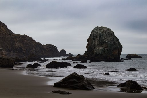The beach at Lands End. Dawn Page / CoastsideSlacking