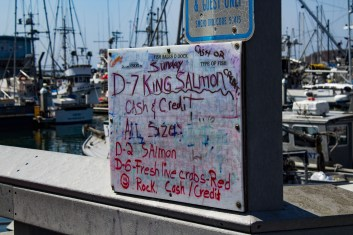 Fish for sale at Pillar Point Harbor. Dawn Page / CoastsideSlacking