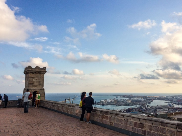 The view from Montjuïc Castle in Barcelona. Dawn Page / CoastsideSlacking