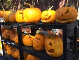 Pumpkin carving in the kid zone at the 2017 Half Moon Bay Pumpkin Festival. Dawn Page / CoastsideSlacking
