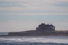 Abandoned light station on Año Nuevo island in Pescadero, California. Dawn Page / CoastsideSlacking.