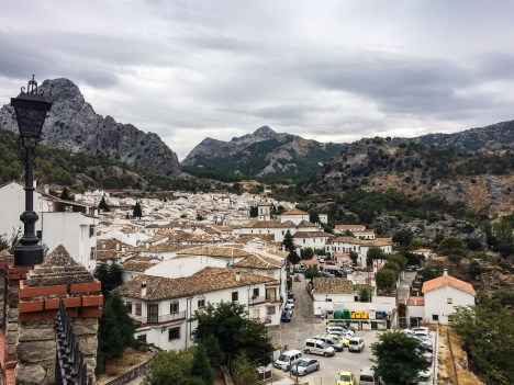 The village of Grazalema, Andalusia, Spain. Dawn Page / CoastsideSlacking