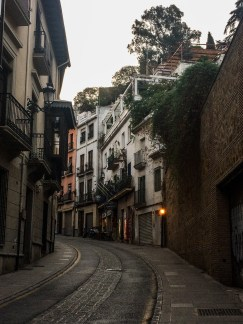 Quiet morning streets in Granada, Spain. Dawn Page / CoastsideSlacking