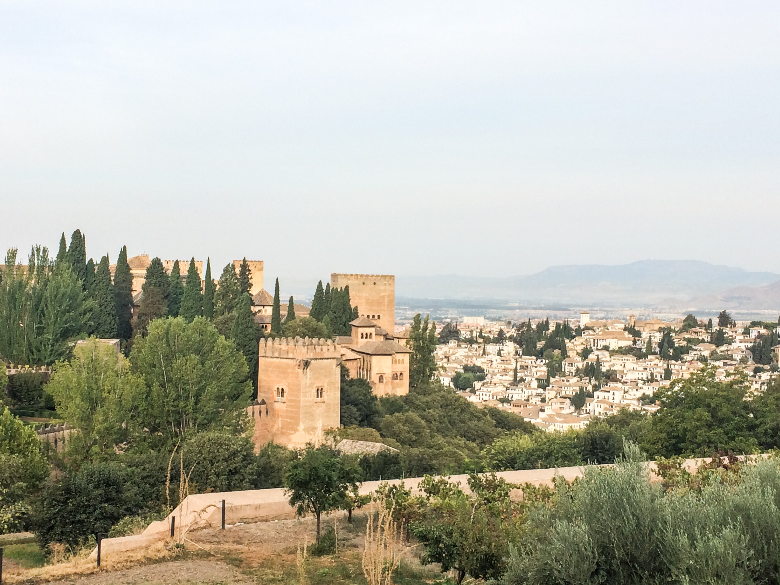 Alhambra from The Generalife, its summer palace in Granada, Spain. Dawn Page / CoastsideSlacking