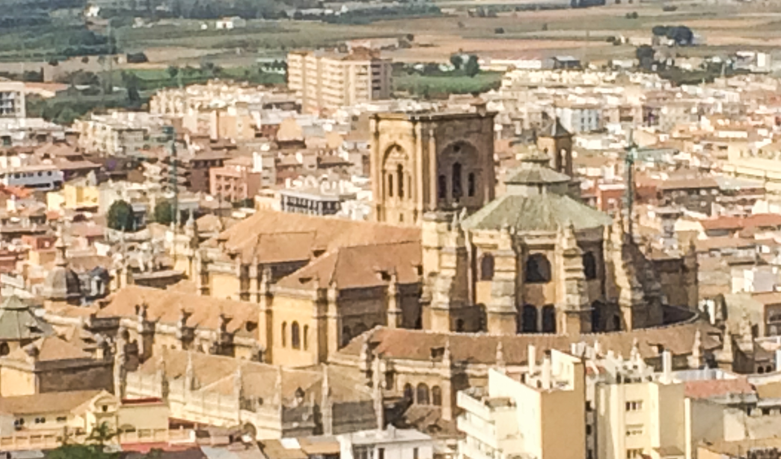 The cathedral in Granada, Spain. Dawn Page / CoastsideSlacking