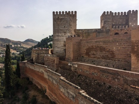 The Alhambra fortress and palaces in Granada, Spain. Dawn Page / CoastsideSlacking