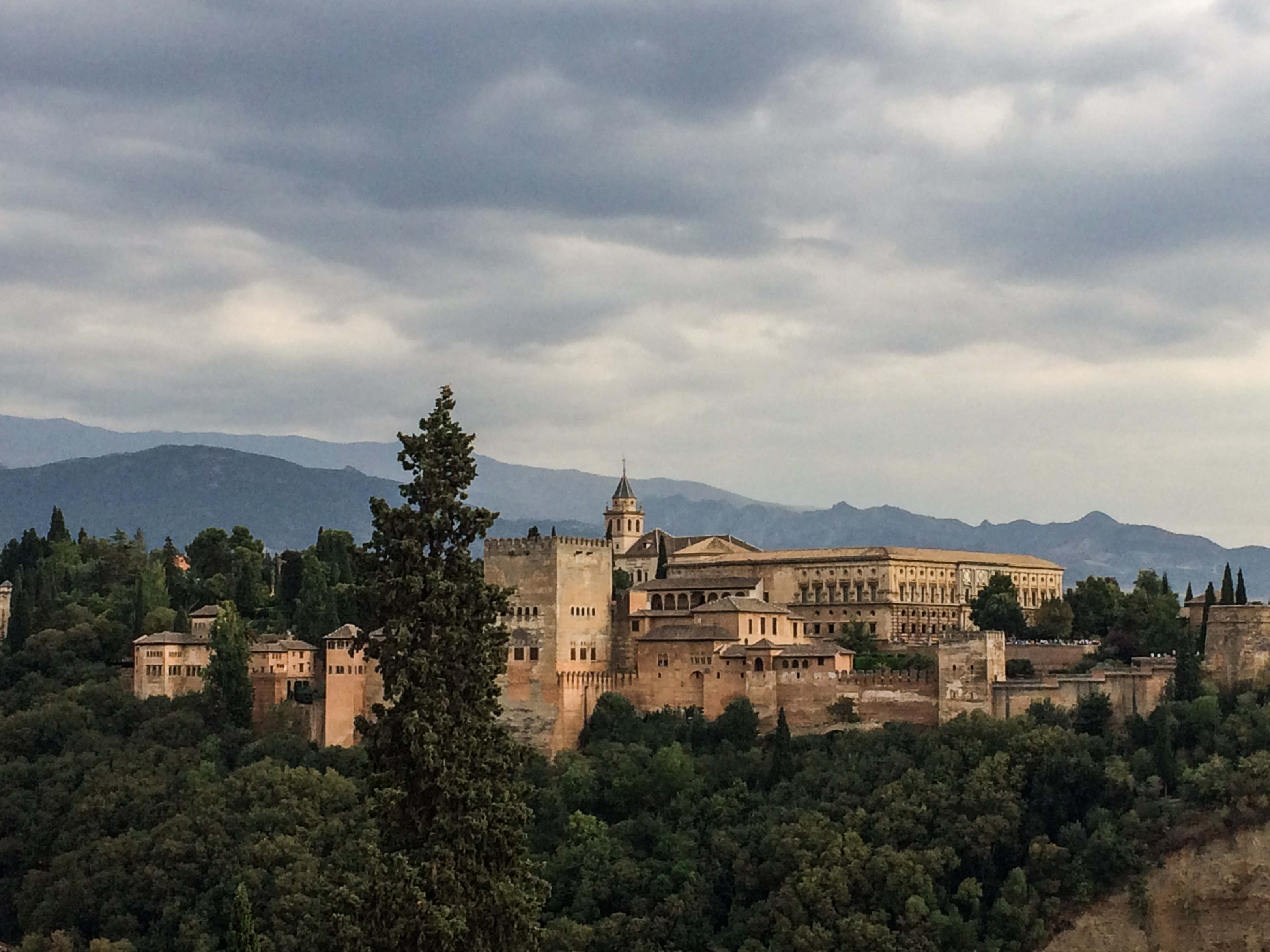 Alhambra fortress and palaces in Granada, Spain. Dawn Page / CoastsideSlacking