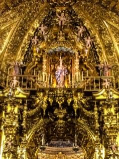 The alter of Basilica San Juan de Dios. Dawn Page / CoastsideSlacking