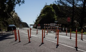 The Pacific Coast (Cabrillo) highway is now open from San Francisco to Gorda, California. Dawn Page / CoastsideSlacking