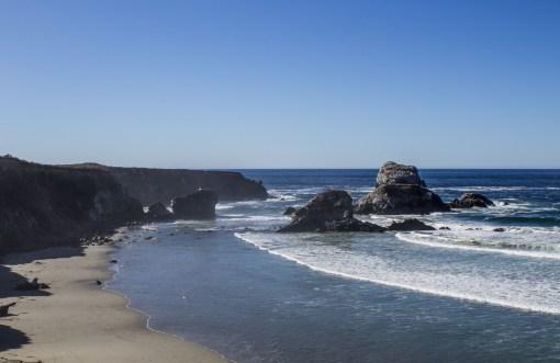 Sand Dollar Beach near Big Sur, California. Dawn Page / CoastsideSlacking