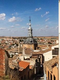 Consuegra in Castile-La Mancha, Spain. Dawn Page / CoastsideSlacking