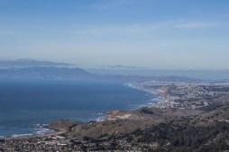 Pacifica to Point Reyes. Montara Mountain. Dawn Page / CoastsideSlacking