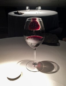 Wine as art at Cinc Sentits. Dawn Page / CoastsideSlacking