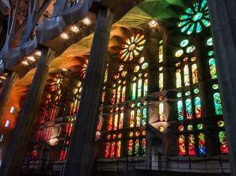 Sagrada Familia, Barcelona. Dawn Page/Coastside Slacking