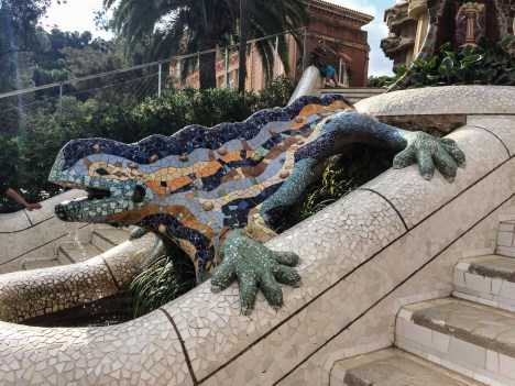 Park Güell, Barcelona. Dawn Page/Coastside Slacking