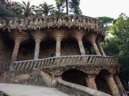 Park Güell, Barcelona. Dawn Page/Coastside Slacking